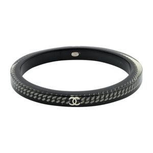 CHANEL Resin Chain CC Bangle